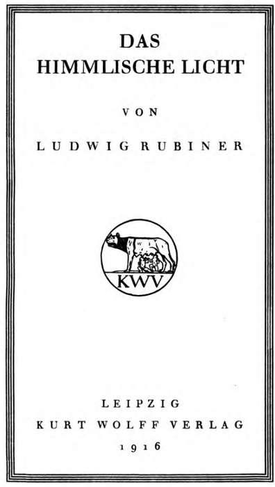 Das Himmlische Licht Gedichte Project Gutenberg Ludwig